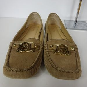 Michael Kors Loafers Slip On Shoes Suede